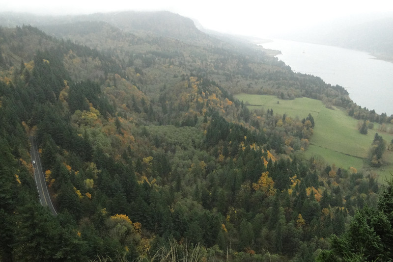 View from the New Cape Horn Lookout