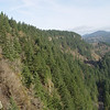 View East back along Cape Horn & Highway 14 below.