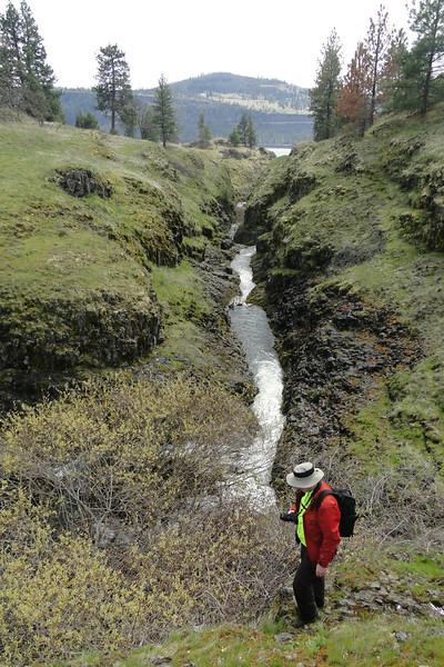 Catherine Creek below the Falls.