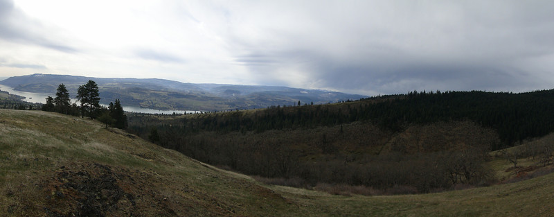 Looking West over the Catherine Creek Drainage.