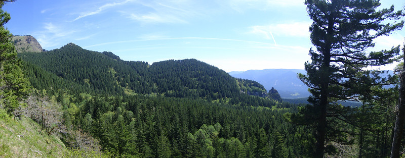Looking East over the Cedar Creek Drainage.