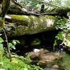 Remains of the old Hamilton Creek Railroad trestle.