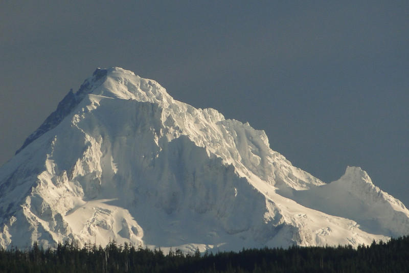 Zoomed in on Hood from St. Cloud Point.