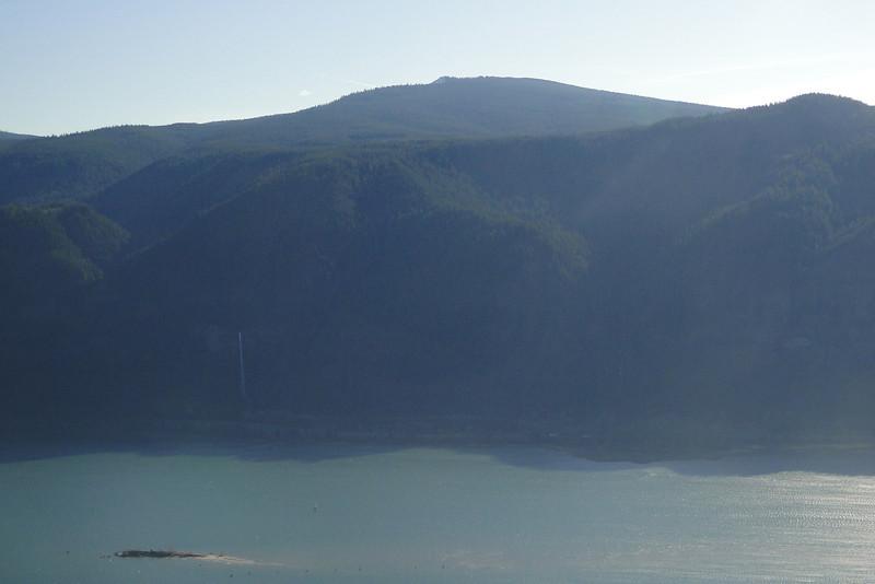 The Cruzatt Loop.<br /> Multnomah, larch Mountain & Devils Rest from Cruzatt Point.
