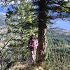 The Cruzatt Loop.<br /> Chiyoko at the East Rim View Point.