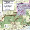 Cruzatt Rim Trail System Reference Map.