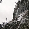 The upper tier of Mist Falls.