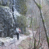 Ice on the Lower Eagle Creek Trail. <font>© Chiyoko Meacham</font>
