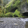 Eagle Creek Beach below Punch Bowl Falls.