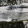 The Tanner Butter Butte Summit Trail Junction.