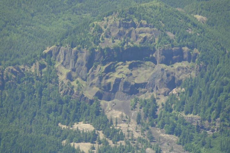 Hamilton Mountain looked very small.