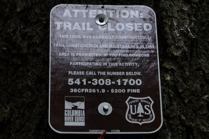 Helpful Forest Service Sign.