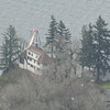 Zoomed in on the Warren House down on the River.