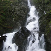 Rodney Falls<br /> Looking up to Pool of the Winds