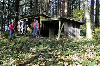 The old Hamilton Cabin