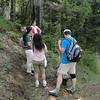 West side trail.