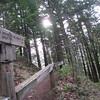 Herman Creek Bridge Trail Junction <FONT SIZE=1>© Chiyoko Meacham</FONT>