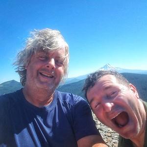 A summit Selfie