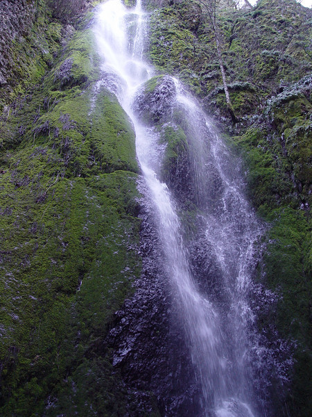 Nick Eaton Falls,<br /> Probably the first main point of interest that you come to on the trail is Nick Eaton Falls.