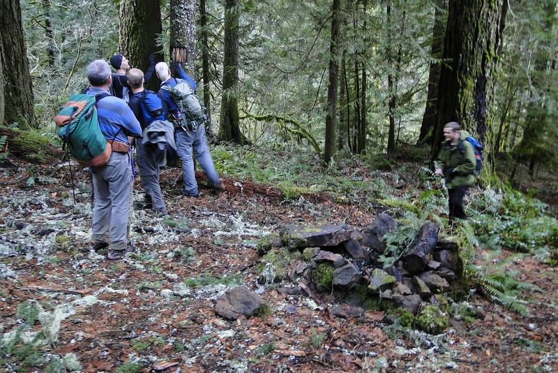 RJT<br /> The trail side fire pit / camp spot.