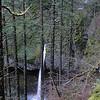 Looking back down on Ponytail Falls.