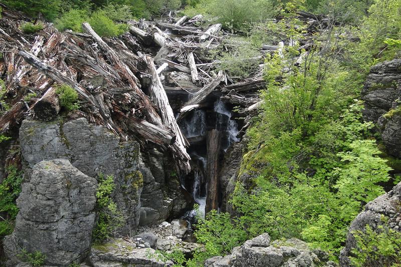 East Woodward Falls - Upper Tier.