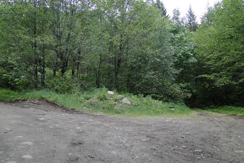 The Keuffler Road E & W trail head.