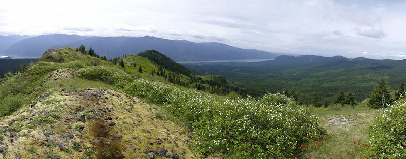 Hardy Ridge Looking West.