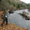 Klickitat River Trail.<br /> Safety bypass meant that we had to go & have a look why!