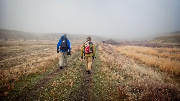 Klickitat trail from Harms Rd © Chiyoko Meacham