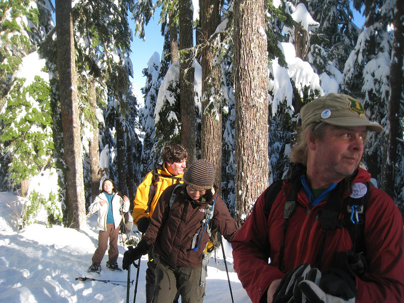 FS 315 - Larch Mountain Trail Junction. <FONT SIZE=1>© Chiyoko Meacham</FONT>