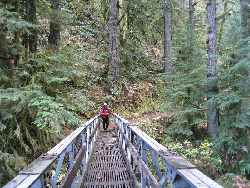 Multnomah Creek - 2 mile bridge <FONT SIZE=1>© Chiyoko Meacham</FONT>
