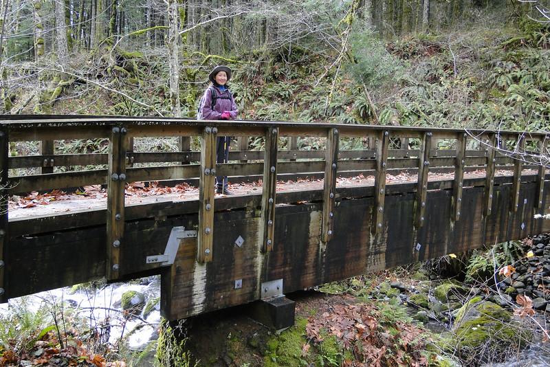 PCT Bridge over Greenleaf Creek.