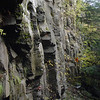 Rock Face at Warren Falls