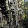 Rock Face at Warren Falls