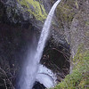 Looking down on Elowah Falls