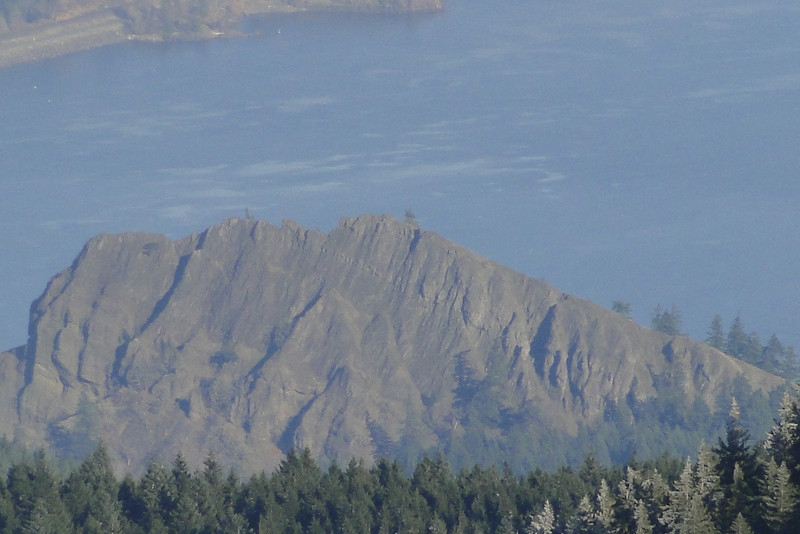 Zoomed in on Mitchell Point.