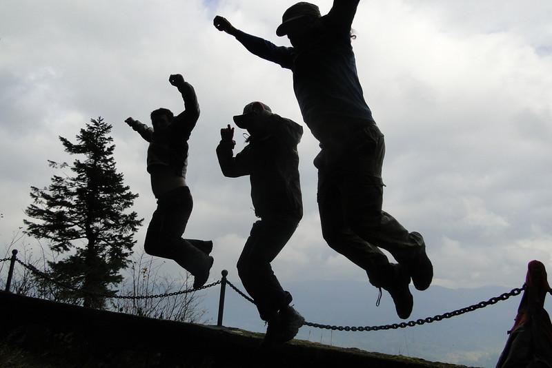 Jumpin' at Bickel Point!
