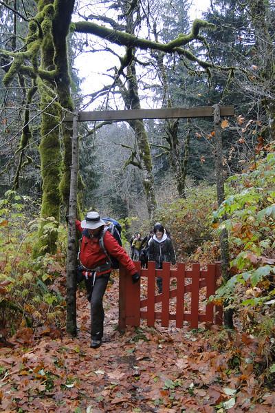 Nesika Lodge Gate