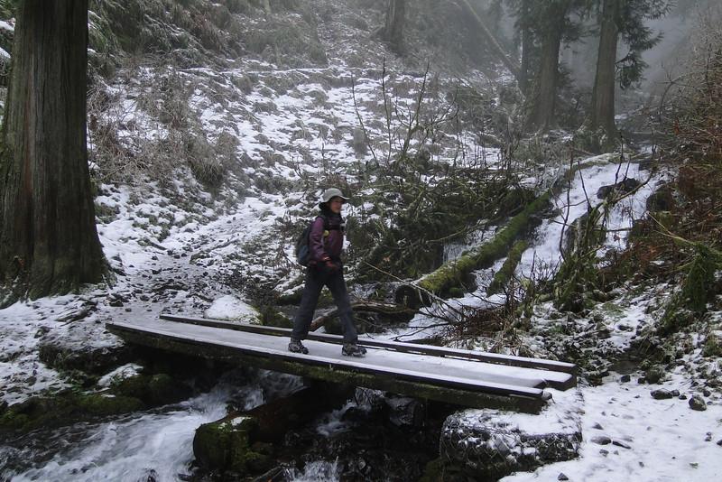 Wahkeena Trail.