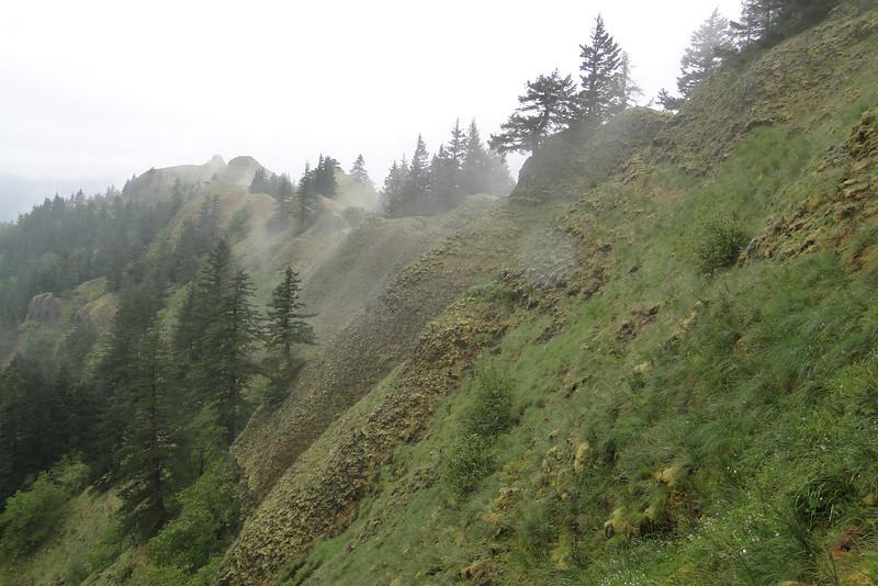 Munra Ridge Traverse, looking back.