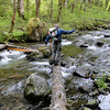Crossing Tanner Creek.