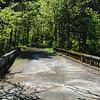 The old Columbia River Highway bridge over Tanner Creek.