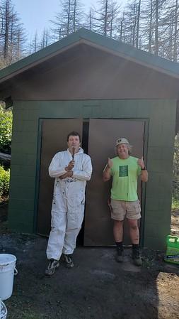 Nesika Lodge Work Day