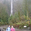 A quick stop on the way at Multnomah Falls for Coffe & Bathrooms!
