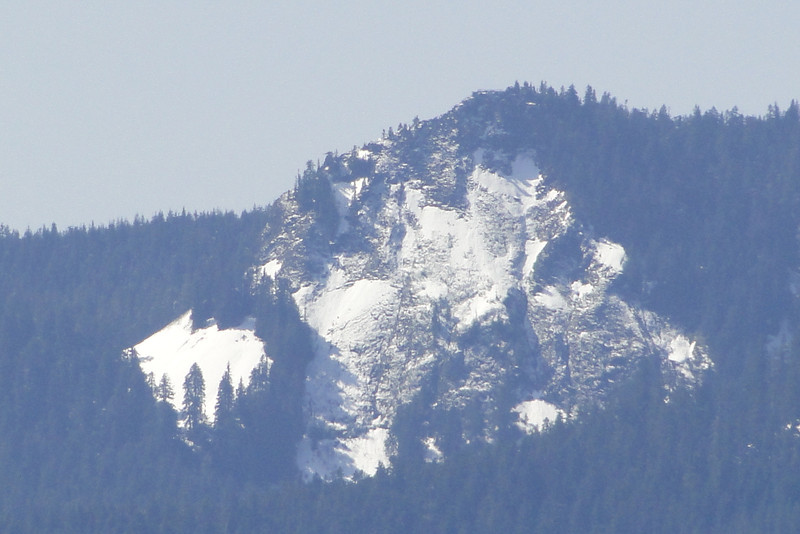Sherrard Point from the View Point just East of Railcar Falls