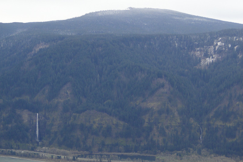 Looking South to larch Mountain.