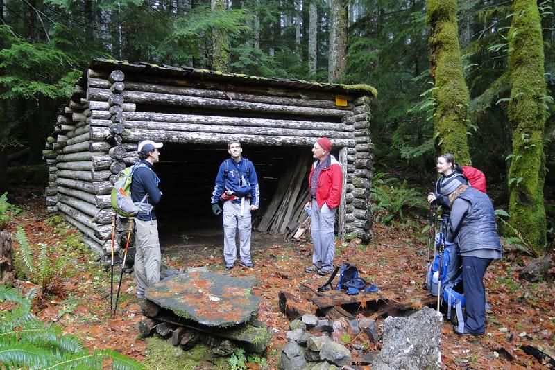 Upper RJ Shelter.