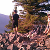 On top of Wind Mountain.