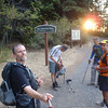 back at the trailhead 7:20am <FONT SIZE=1>© Mark Scott</FONT>
